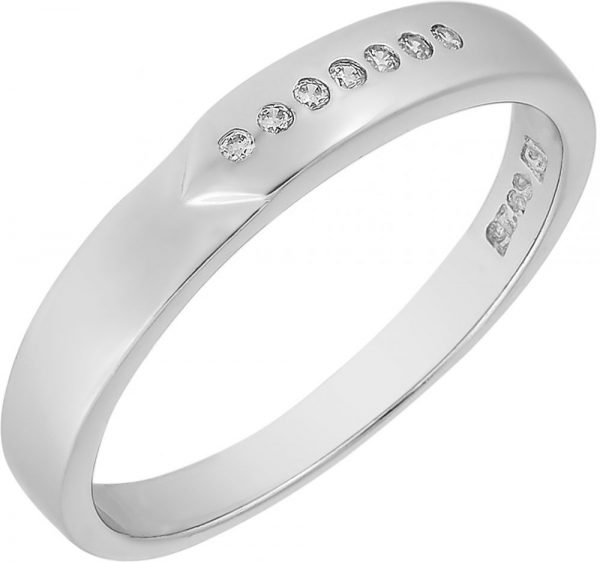 925 Silver Unisex Band Ring RG071