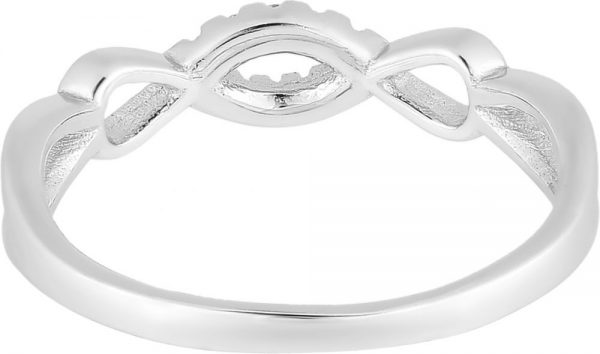 925 Silver Double Infinity Ring RG085